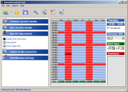 Parental Control Tool 7.3.2.1 Portable
