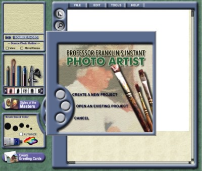 Professor Franklin's Instant Photo Artist 2.0 Portable