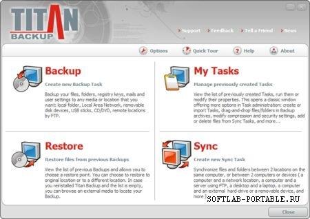 Titan Backup Business 2.3.0.114 Portable