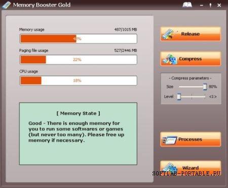 Memory Booster Gold 6.1.1.350 Portable