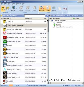 Total Uninstall Pro 7.0 Portable