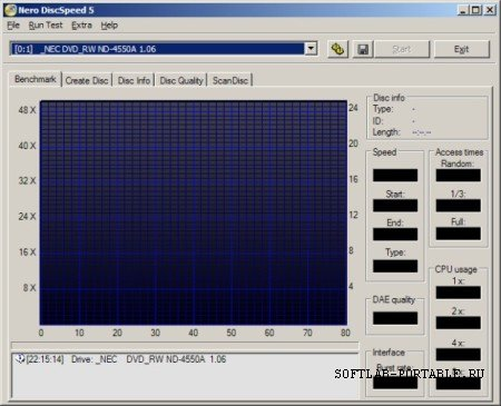 Nero DiscSpeed 5.4.24.100 Portable