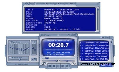 XMPlay 3.8.5 Portable