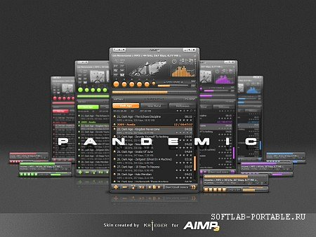 AIMP Audio Player 4.70.2236 Final Portable