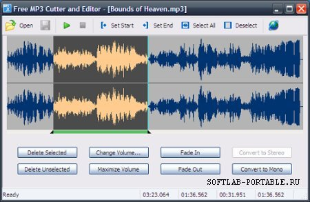 MP3 Cutter and Editor 2.8.0.2113 Portable