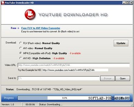 YouTube Downloader HD 2.9.9.75 Portable