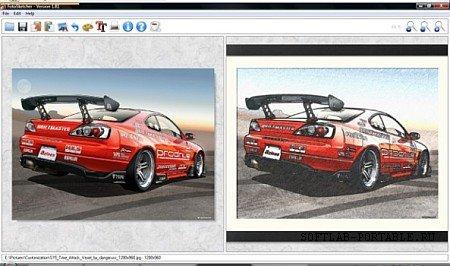 FotoSketcher 3.60 Final Portable