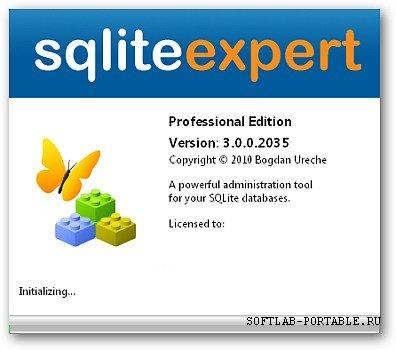 SQLite Expert Pro 5.3.5.483 Portable