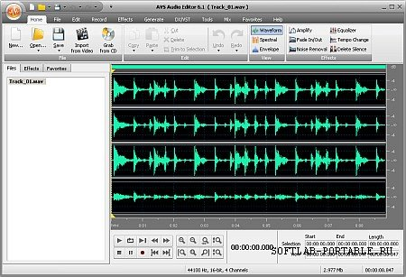 AVS Audio Editor 10.0.2.550 Portable