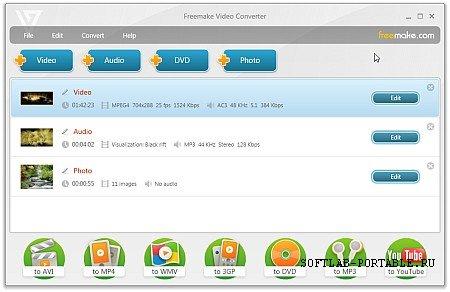 Freemake Video Converter 4.1.12.56 Portable