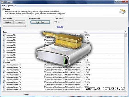 KCleaner 3.7.0.107 Portable
