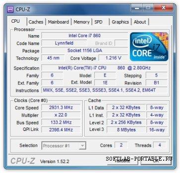 CPU-Z 1.94 Portable