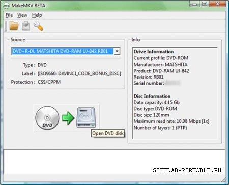 MakeMKV 1.15.2 Portable