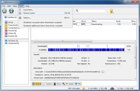 qBittorrent 4.3.1 Portable