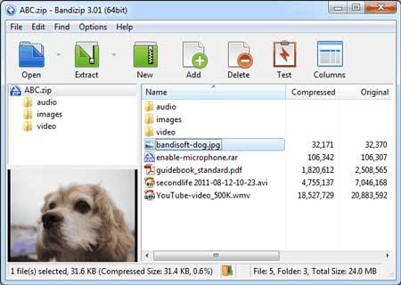 Bandizip 7.10 Final Portable