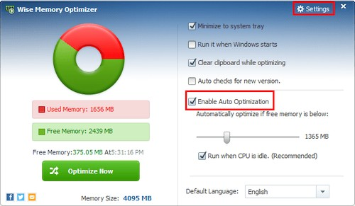 Wise Memory Optimizer 3.68.112 Portable