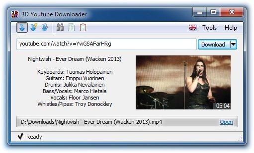 3D Youtube Downloader 1.19.5 Portable
