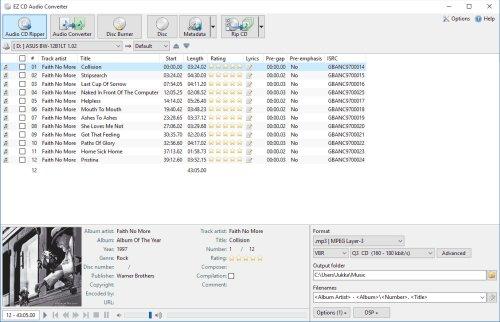 EZ CD Audio Converter 9.1.4.1 Portable