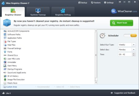 Wise Registry Cleaner 10.3.2 Build 691 Portable